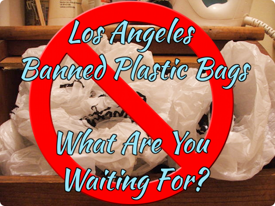 Los Angeles Banned Plastic Bags. What Are You Waiting For?