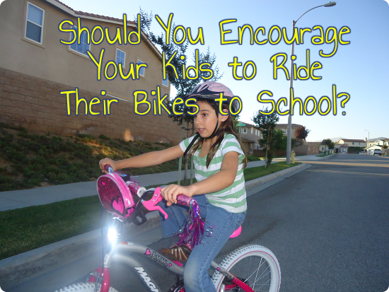 Should You Encourage Your Kids to Bike to School?