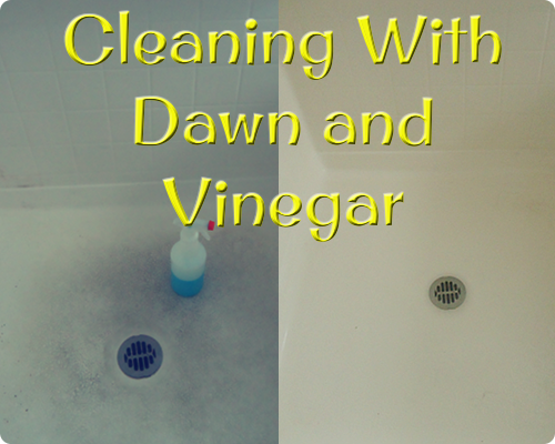 Cleaning With Dawn and Vinegar