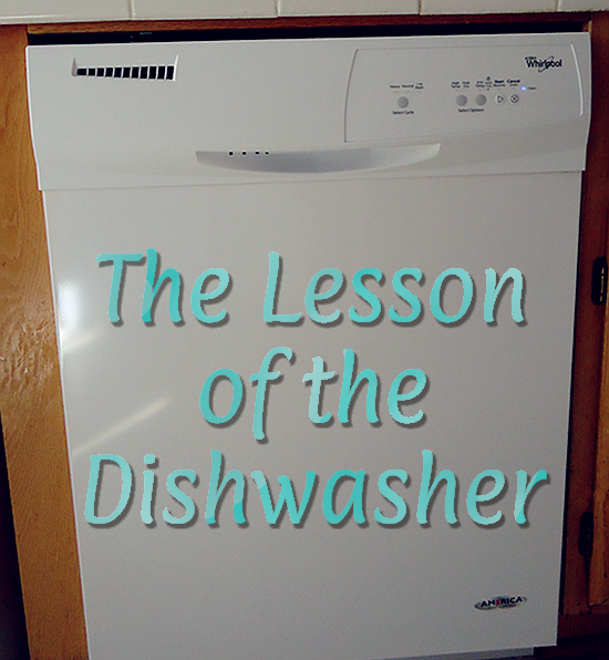 The Lesson of the Dishwasher