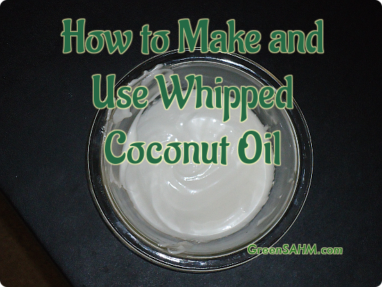 How to Make and Use Whipped Coconut Oil