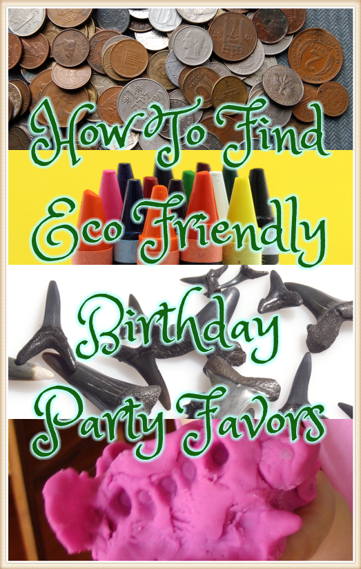 How to Find Eco Friendly Birthday Party Favors