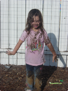 let kids play in the mud