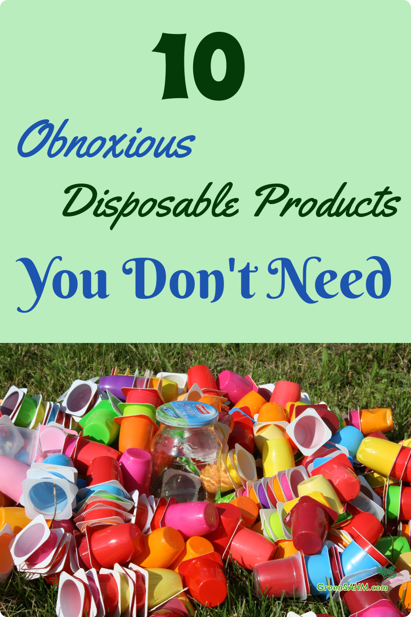 10 Obnoxious Disposable Products You Don't Need